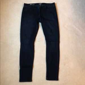 LOFT Jean Leggings - size 10 - dark wash